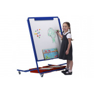 Little Rainbows Mobile Magnetic Display & Storage Easel