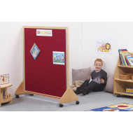 Little Acorns Junior Partition With Wooden Frame