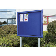 Weathershield Freestanding Outdoor Showcase