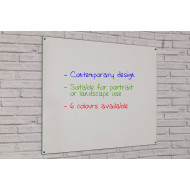 Non-Magnetic Frameless Colourmaster Writing Boards