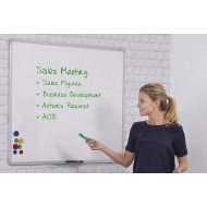 Magnetic Writing Board (Vitreous Enamel Steel)