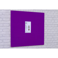 Highlight Flame Shield Unframed Noticeboard