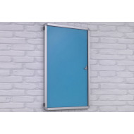 Highlight tamperproof top hinged noticeboards