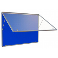 Flameshield Top Hinged Noticeboard