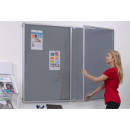 Tamperproof Top Hinged Noticeboard
