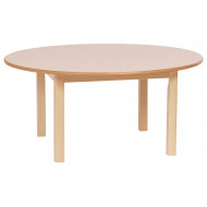Circular Wooden Table