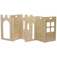 House And Castle Panel Play Set
