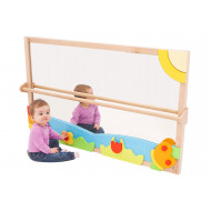 Large Pull Up And Play Toddler Mirror