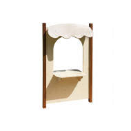 Outdoor Play Counter Panel