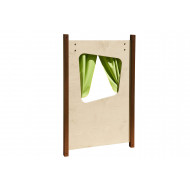 Outdoor Play Panel With Curtain