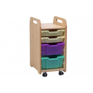 Playscapes Tray Storage With 2 Shallow And 2 Deep Trays