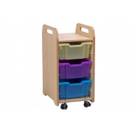 Playscapes Tray Storage With 3 Deep Trays