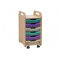 Playscapes Tray Storage With 6 Shallow Trays