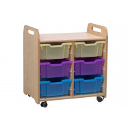 Playscapes Tray Storage Unit With 6 Deep Trays