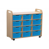 Playscapes Storage Unit With 12 Deep Trays