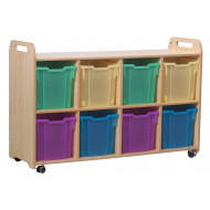 Playscapes Storage Unit With 8 Jumbo Trays