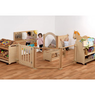 Playscapes Baby Enclosure Zone With Large Baskets
