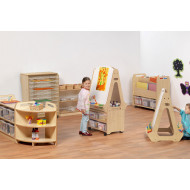Playscapes Creativity Zone With Clear Tubs