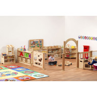Playscapes Imagination Zone With Clear Tubs