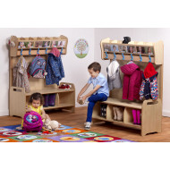 Playscapes cloakroom set 2