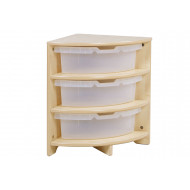 Playscapes Quad Clear Tray Unit