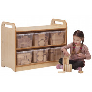 Playscapes Tall Block Mirror Play Unit