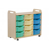 Playscapes Tray Storage Unit With 12 Deep Trays