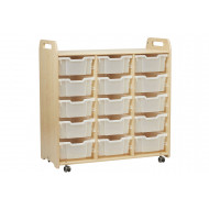 Playscapes Tray Storage Unit With 15 Deep Trays