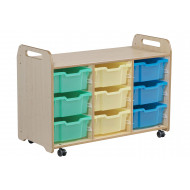 Playscapes Tray Storage Unit With 9 Deep Trays