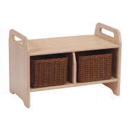 Playscapes Welcome Storage Bench With 2 Baskets
