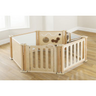 Toddler Play Panel Set Enclosure