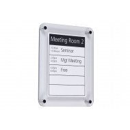 Crystal Clear Wall Notice Frame