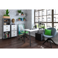 Imrie Rectangular Home Office Desk