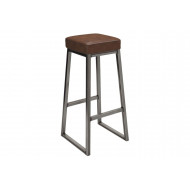 Next-Day Speewa High Stool With Upholstered Seat