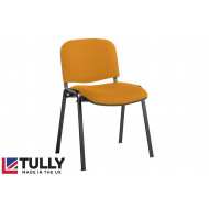 Tully Black Frame Conference Chair