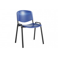 Next-Day Pack Of 4 Plastic Conference Chairs
