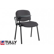 Tully Black Frame Conference Chair With Writing Tablet