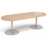 Wolfe Radial Boardroom Table