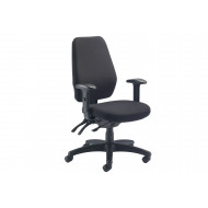 Simons 24 Hour Operator Chair (Charcoal)
