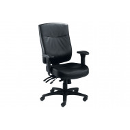 Charney 24 Hour Leather Faced Operator Chair