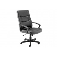 Next-Day Dulce High Back Leather Faced Executive Chair