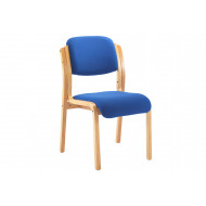 Next-Day Burch Stacking Side Chair (Blue)