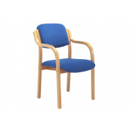 Burch Stacking Armchair (Blue)