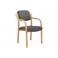 Next-Day Burch Stacking Armchair (Charcoal)