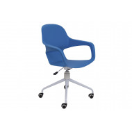 Booth Spider Base Bistro Chair (Blue)