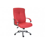 Hoxton High Back Leather Chair