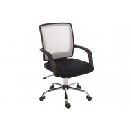 Strum Mesh Back Operator Chair (White)