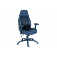 Roslin Leather And Mesh Operator Chair