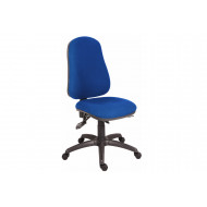 Comfort Ergo Operator Chair With Black Base (Fabric)
