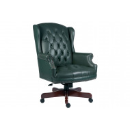 Chairman Swivel Chair Green